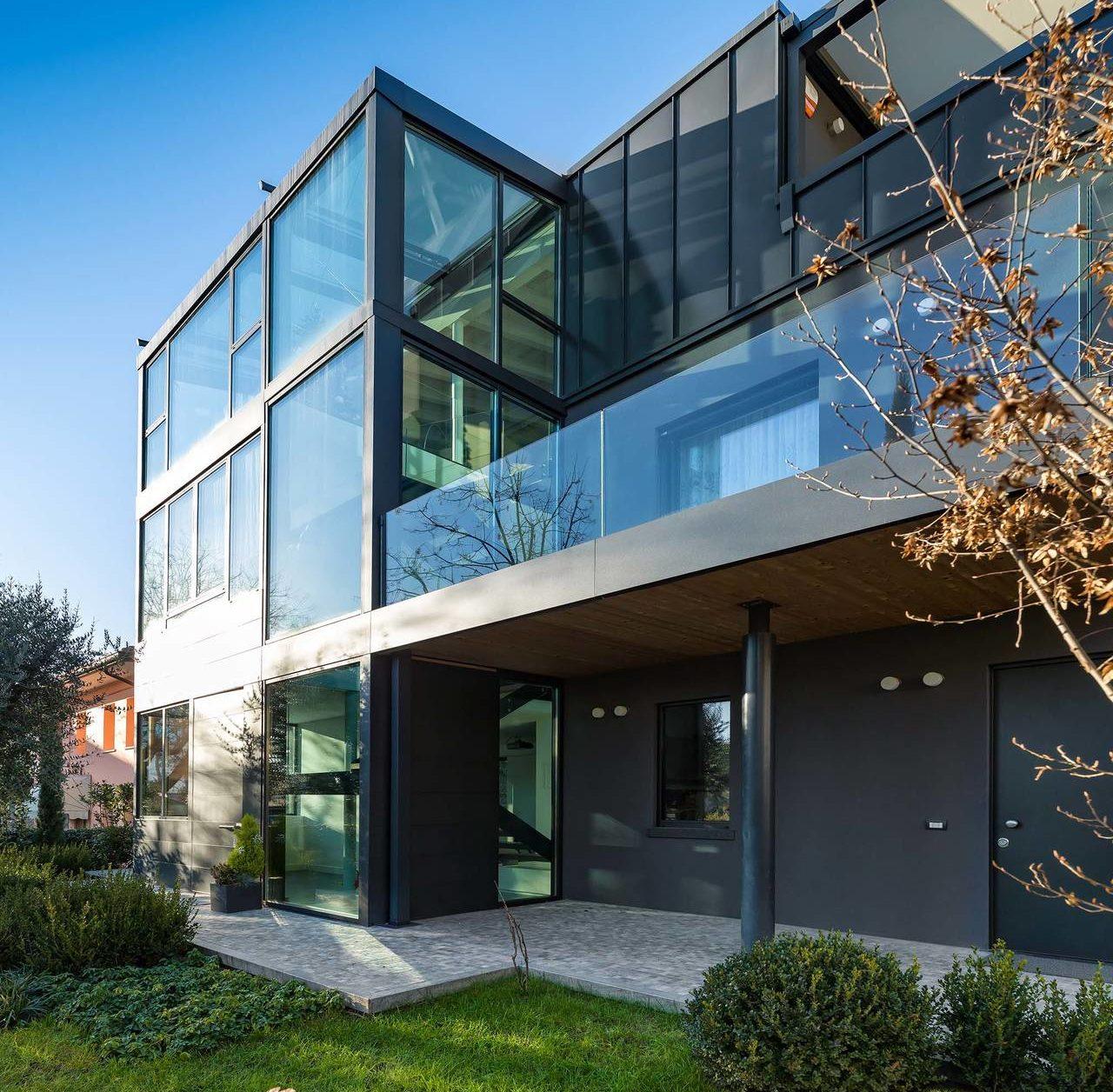 Eclisse per la nuova house ml m r a pordenone area for Aprire i piani casa artigiano concetto