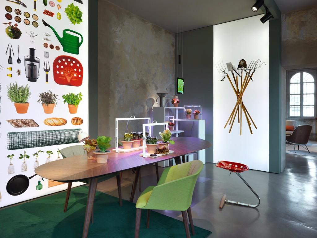 Zanotta stories area for Table zanotta tweed