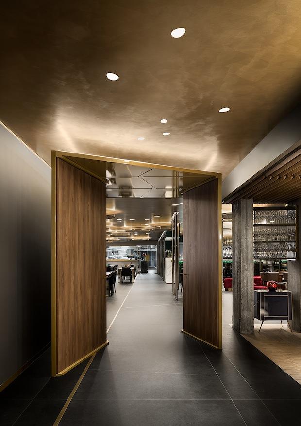 Buzzi & Buzzi per il ristorante AB: il lusso della semplicità