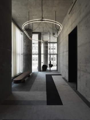 Le cucine e i bagni custom made Dada arredano l'ultima realizzazione di Alexico Group in collaborazione con Herzog & De Meuron al nr. 56 di Leonard Street