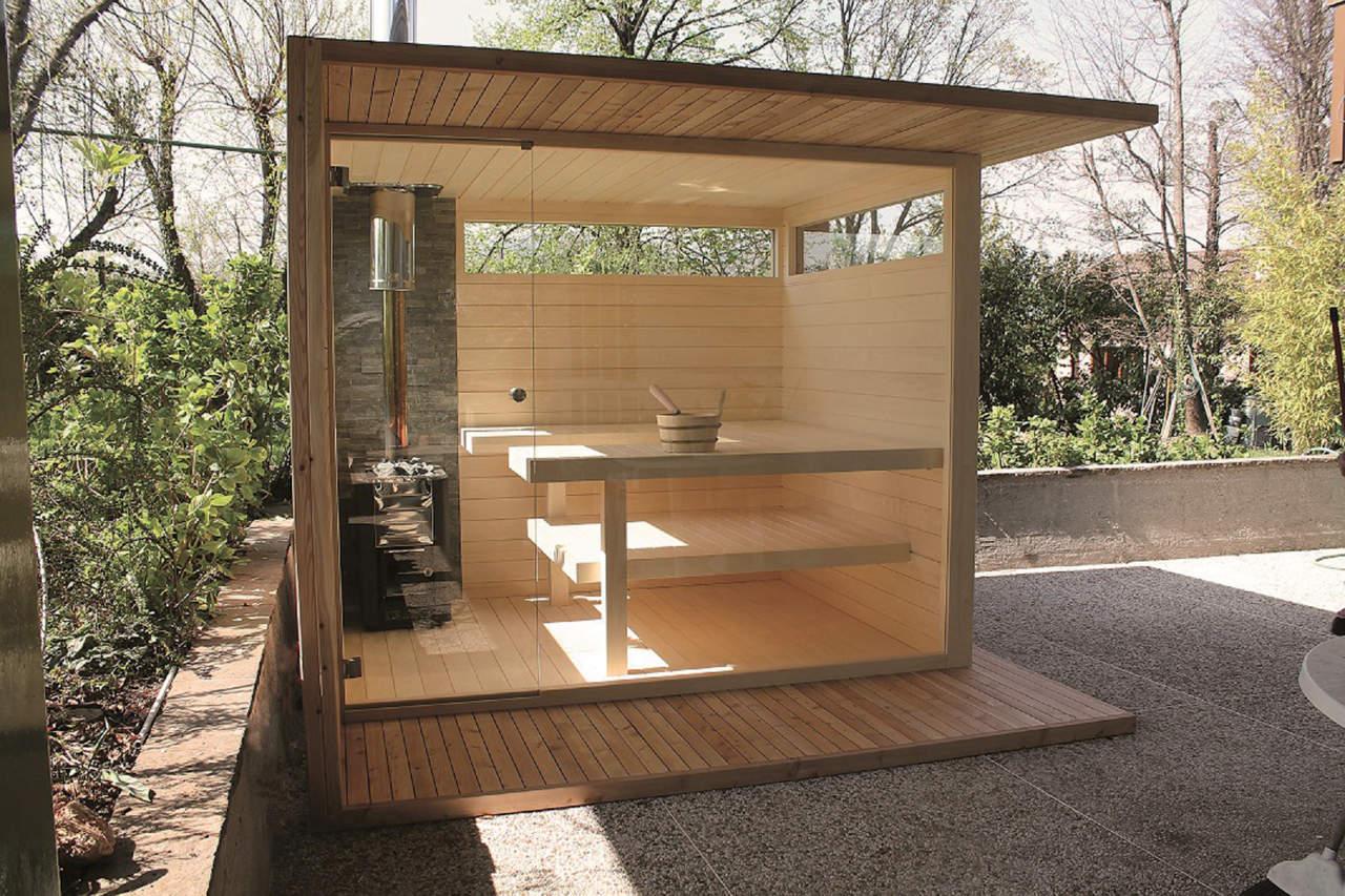 Sauna Outside Pro