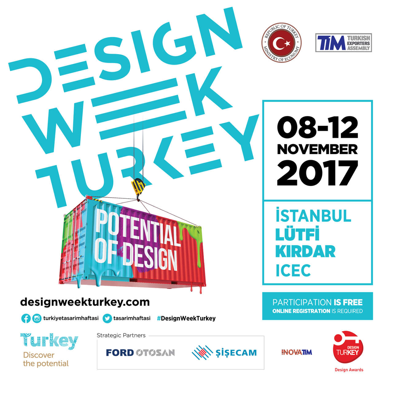 Design Week Turkey 2017 - Potential Design