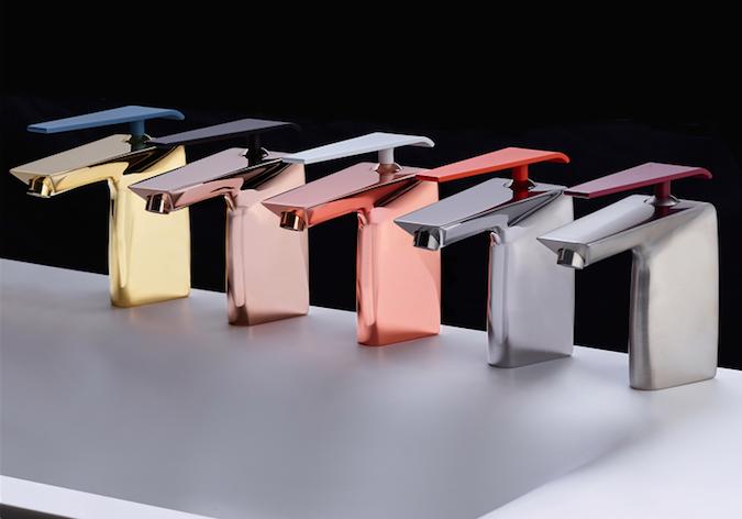 Marco piva designed boomerang for gattoni rubinetterie area - Rubinetteria bagno gattoni ...
