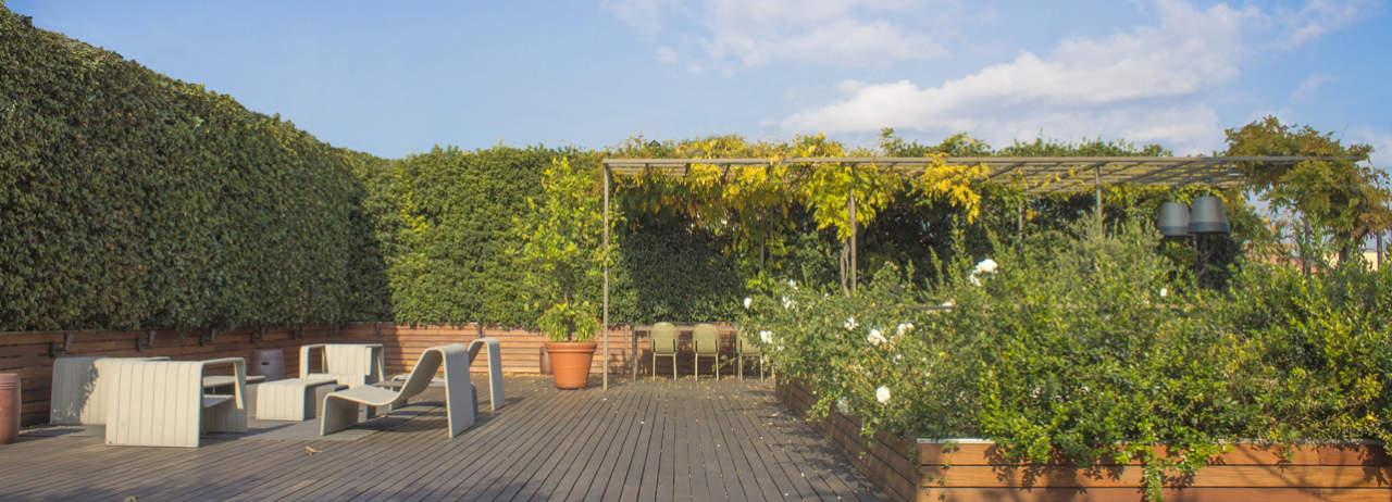 Déco per il terrazzo della casa-studio di Stefano Giovannoni | Area
