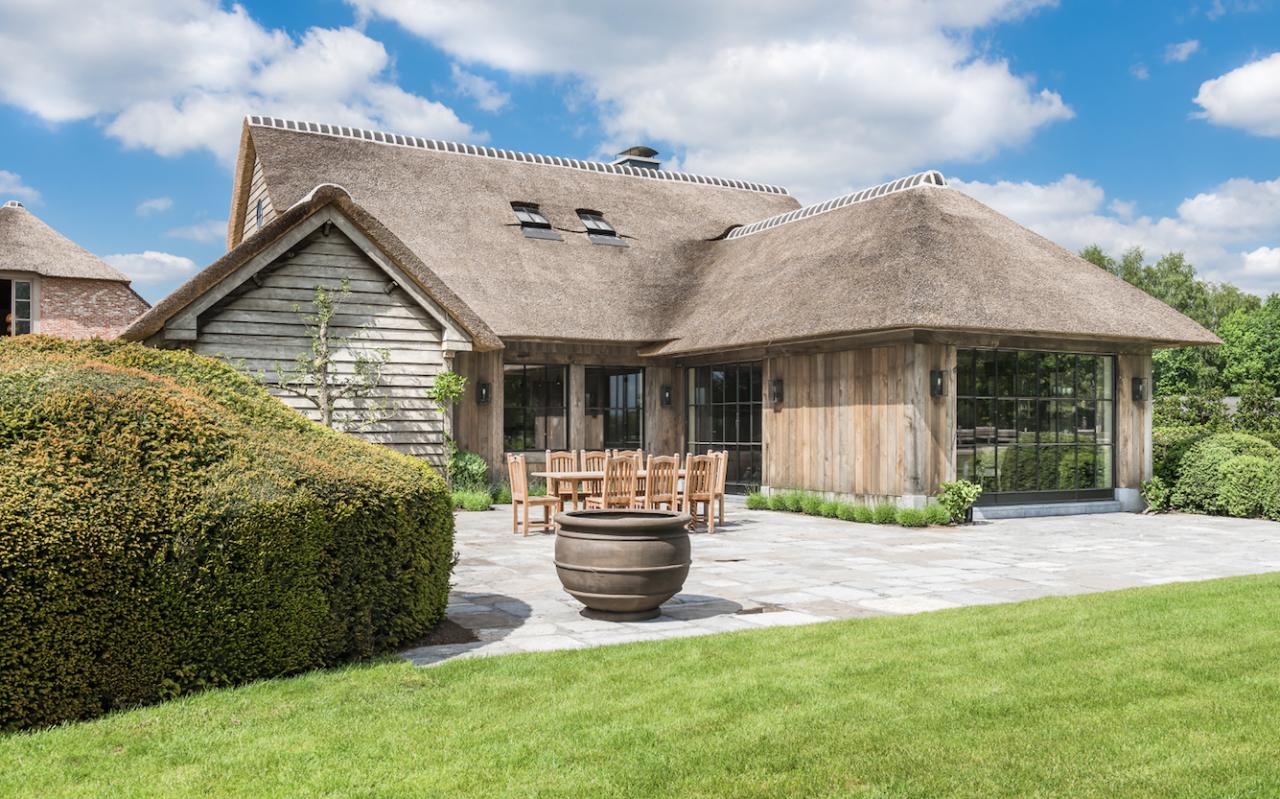 Il microcemento ideal work per un cottage fiammingo area for Micro costruttori di cottage