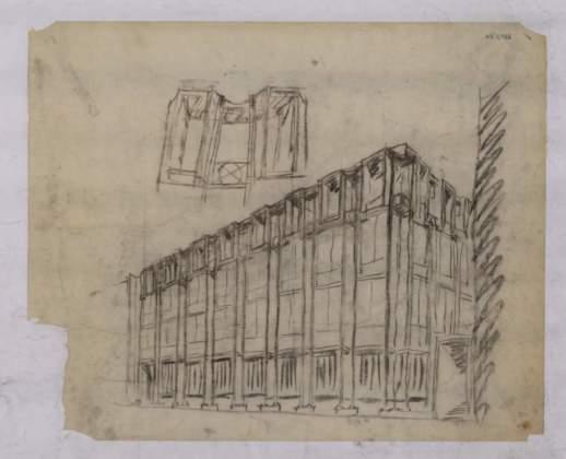 Prospettiva, Banca d'Italia a Padova, 1968. Collezione Andrea Samonà e Livia Toccafondi