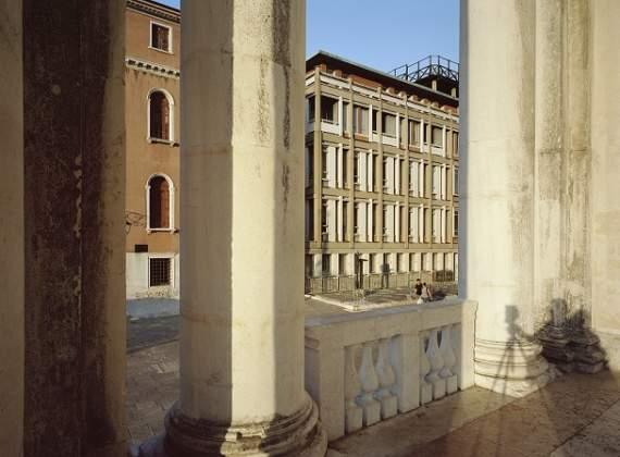 Sede centrale dell'INAIL a Venezia, 1950-61. Foto di Claudio Sabatino, 2017