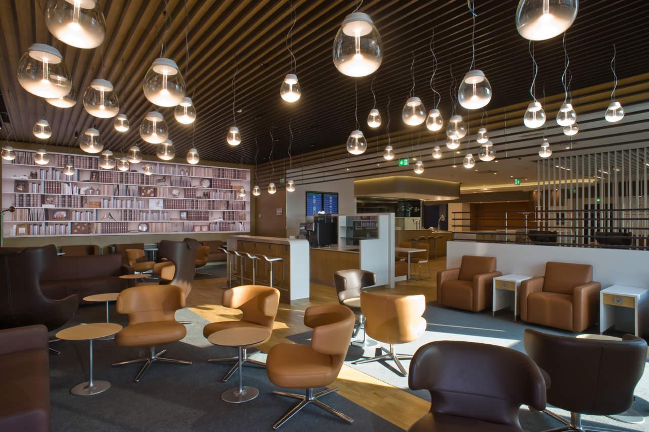 Nuova Lounge Lufhtansa a Milano Malpensa