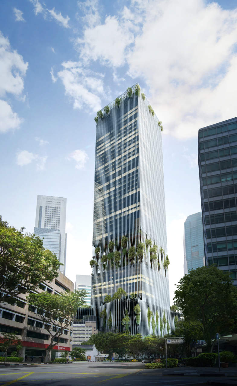 Singapore tower by big bjarke ingels group area for Big bjarke ingels group
