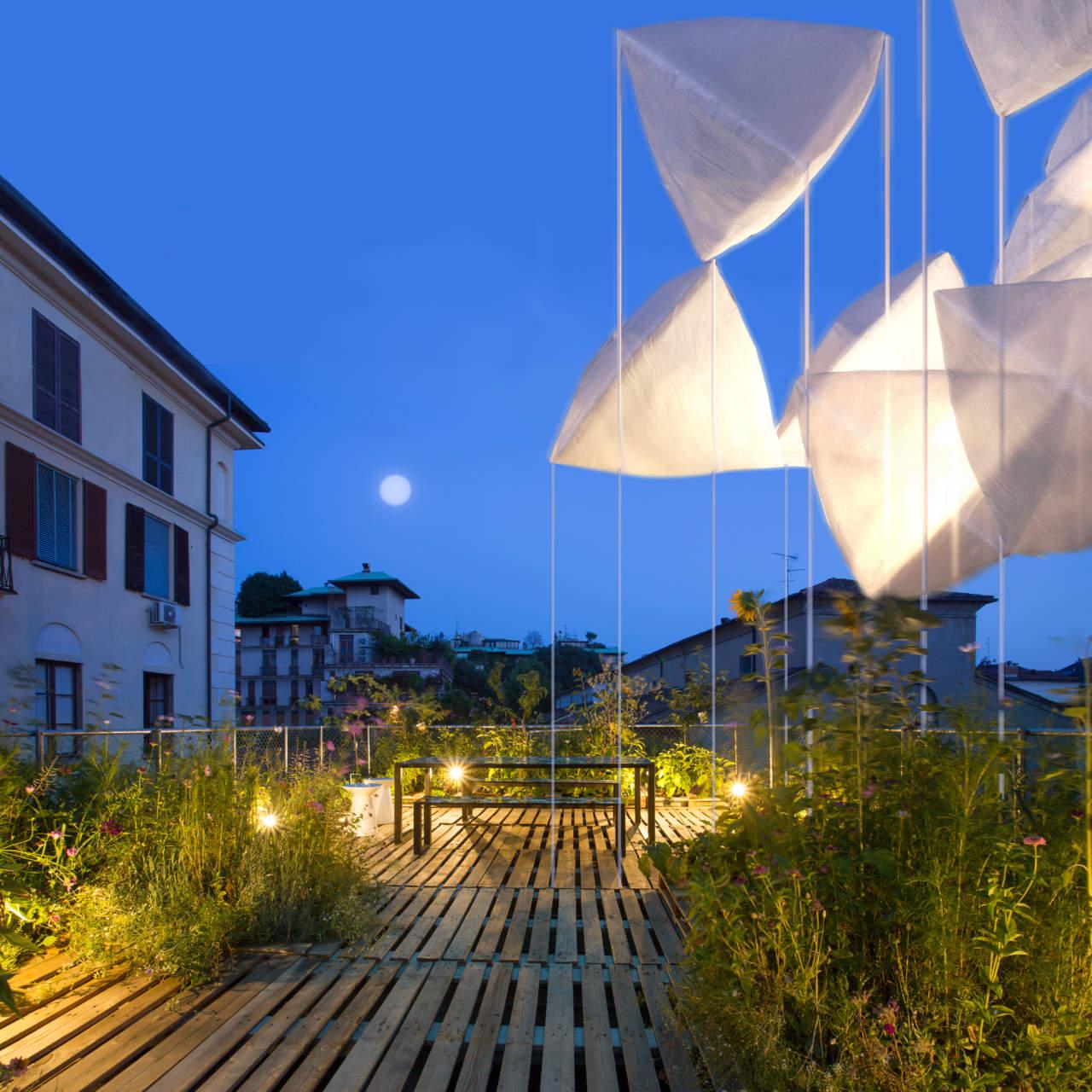 agrAir: l'installazione di Piuarch alla Milano Design Week 2018