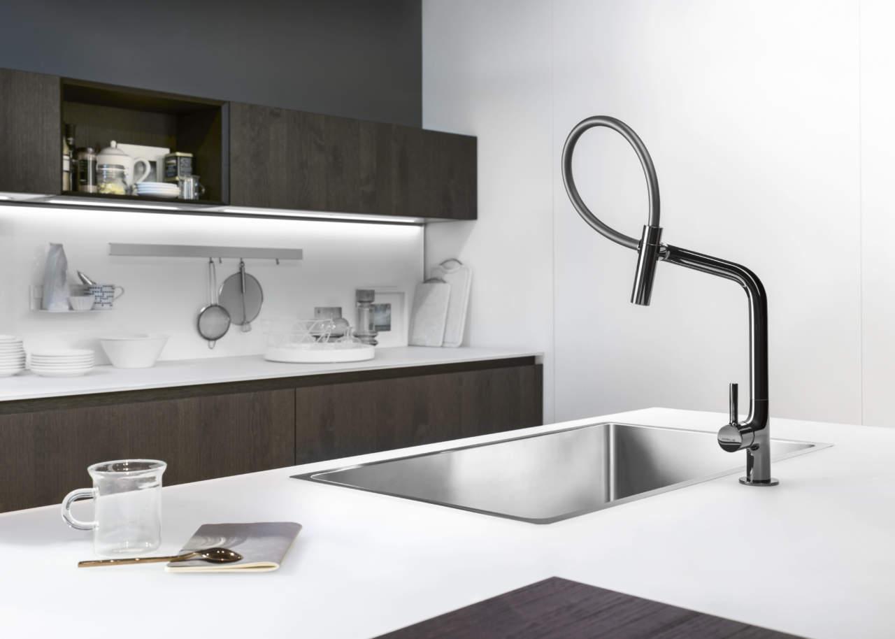 miscelatori da cucina nobili rubinetterie by meneghello paolelli design focus