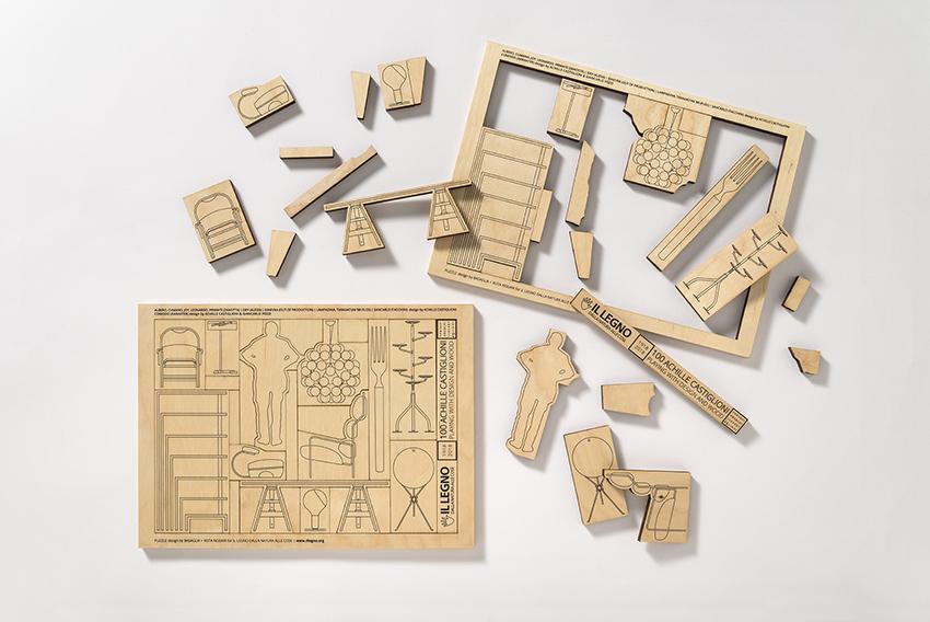 Citta Natale Di Achille.100 Achille Castiglioni Playing With Design And Wood Area