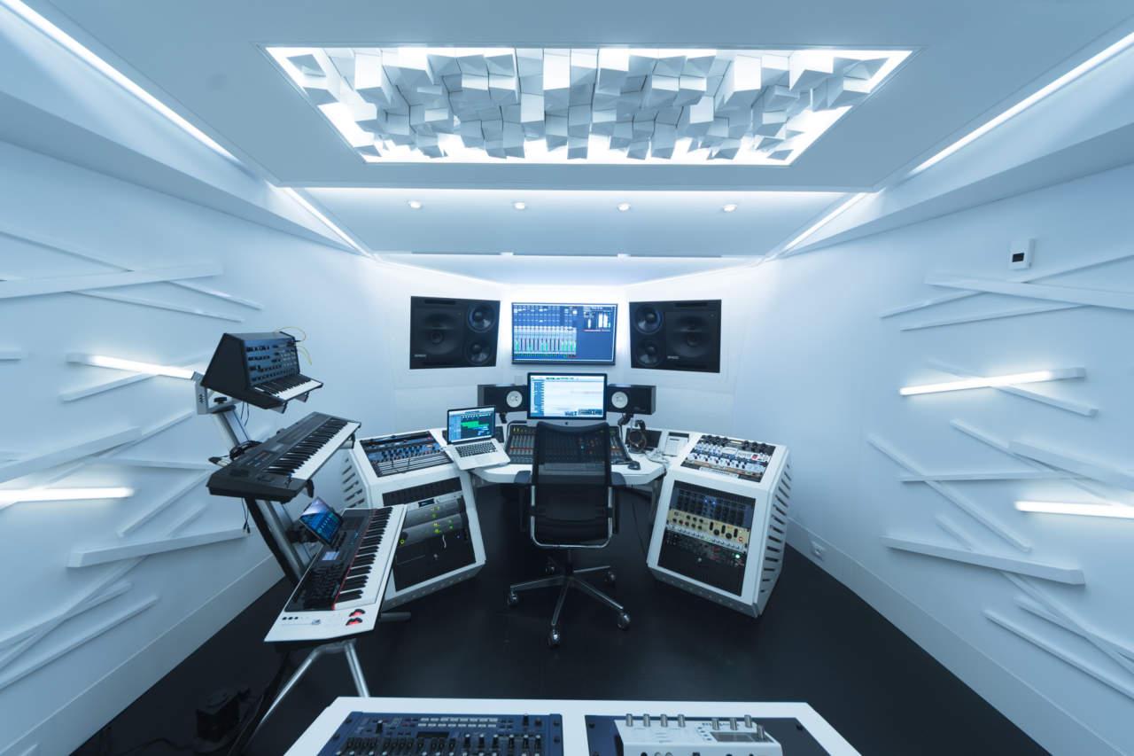 Telmotor per lo studio di registrazione sonicfab area - Studio di registrazione in casa ...