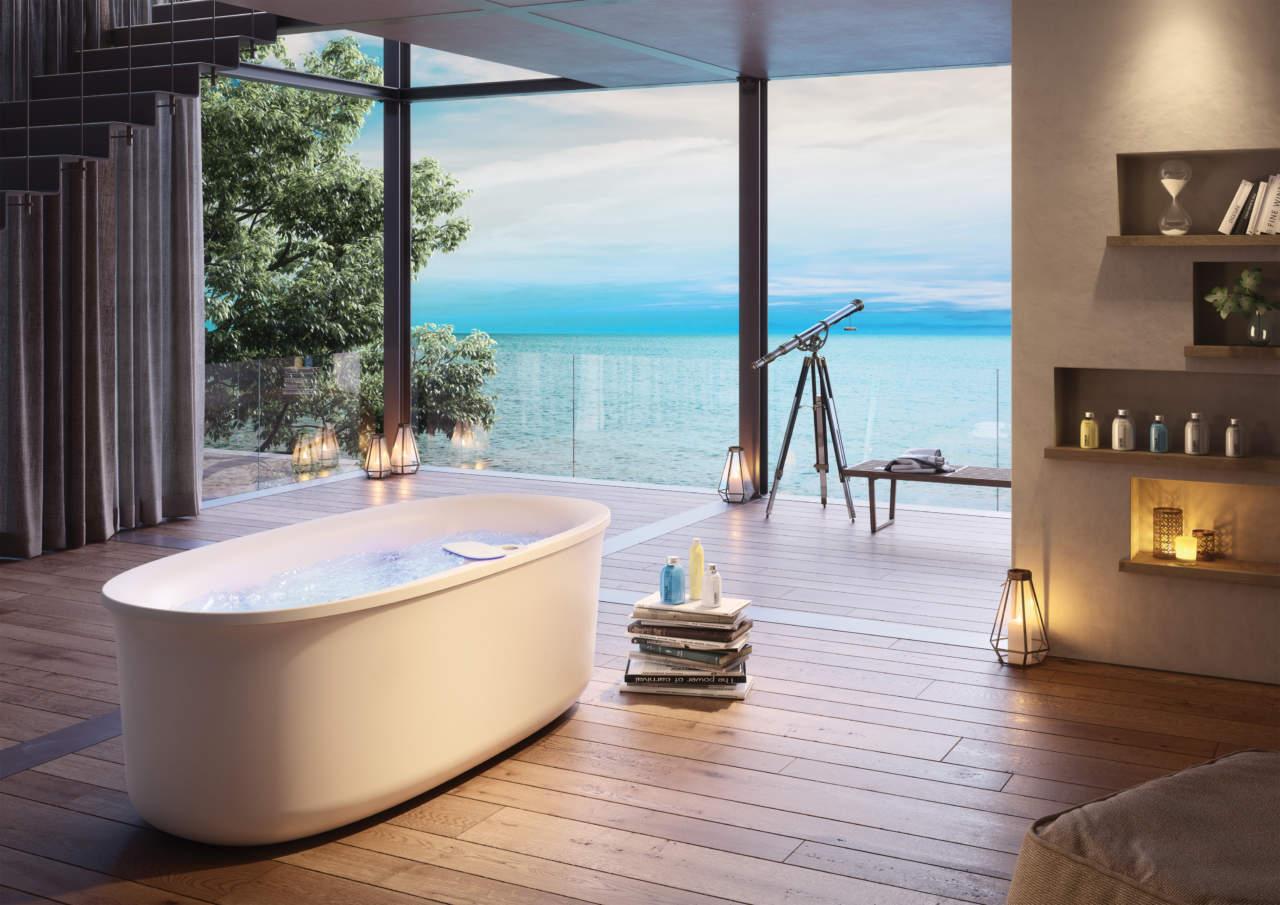 Vasche Da Bagno Jacuzzi Misure : Arga di jacuzzi promette una nuova dimensione del relax area