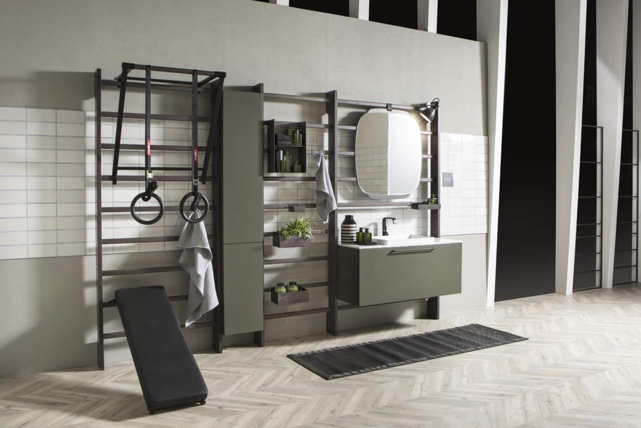 La palestra in bagno: Gym Space by Scavolini   Area