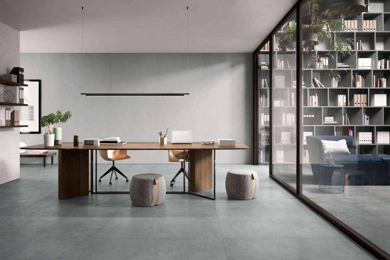 Creos by ceramiche refin superficie irregolare e max formato area