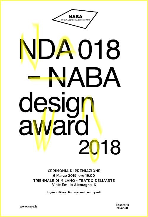 Premiazione della prima edizione del naba design award a for Milano design award