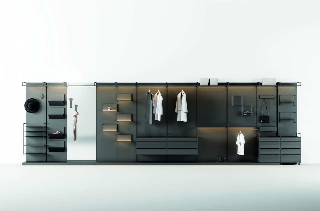 Materika Walk-in Closet: la cabina armadio è magnetica   Area